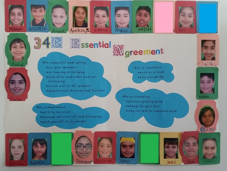Grade 3/4C Essential Agreement