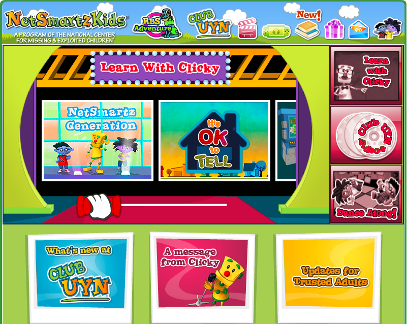 NetSmartzKids video gallery